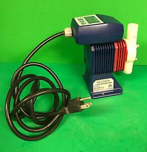 Iwaki E class Meterng Pump Model Ezb16d1 fc With Ez Controller Ezbd1 1 0 Gph
