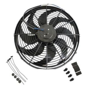 New 16 Heavy Duty Radiator Electric Wide Curved Blade Fan 3000 Cfm Reversible