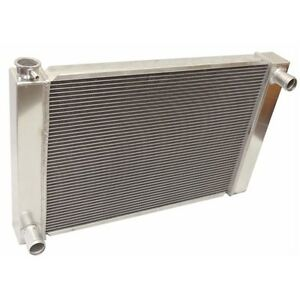Universal For Ford mopar Fabricated Aluminum Radiator 26 X 19 X3 Overall