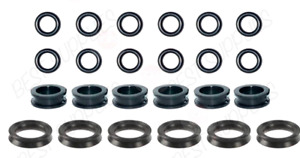 Fuel Injector Service Kit Seals O Rings Grommets