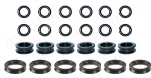 Fuel Injector Service Kit Seals O Rings Grommets Filters
