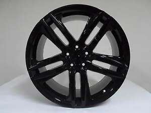 20x8 5 Gloss Black Set Of Four 4 Alloy Accord Drift Hfp Style Wheels Fits Honda