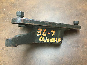1936 1937 Ford Woody Wagon Rear Spare Tire Mount
