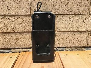 Motorola tm Apx6000 Leather Case W Swivel Belt Loop By Caseguys