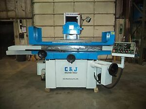 2008 C J 12 X 40 Automatic Surface Grinder W incremental Downfeed Sparkout