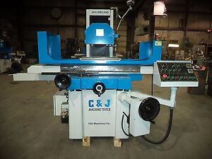 2010 C J 12 X 25 Automatic Surface Grinder W incremental Downfeed Sparkout