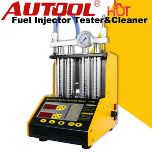Autool Ct150 Ultrasonic Fuel Injector Cleaner Tester Car Motorcycle Van 110 220v