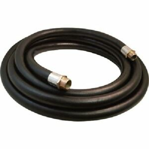 Fuel Transfer Hose 3 4 X 12 Ft Gas Diesel Kerosene Oil Transfer