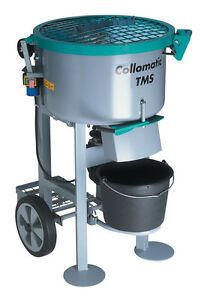 Collomix Heavy Duty Compact Mixer 20 Gal Concrete Cement Mortar Screed