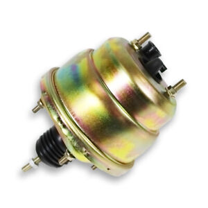 7 Dual Diaphragm Zinc Power Brake Booster Universal Street Rod For Chevy Ford