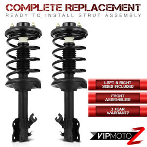 For 02 03 Nissan Maxima Front Suspension Oe Replacement Strut Shocks spring Set