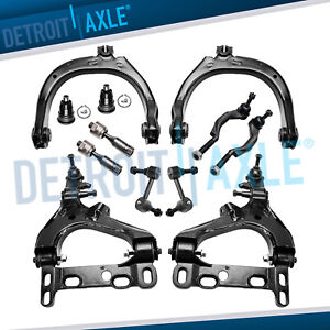 New 12pc Complete Front Suspension Kit Chevy Trailblazer Gmc Envoy 16mm