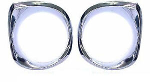 62 64 Nova Headlamp Bezels Lh Rh Sold As A Pair