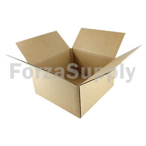 125 8x8x4 ecoswift Brand Cardboard Box Packing Mailing Shipping Corrugated