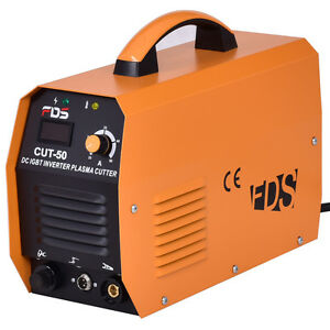 Cut 50 Electric Dc Inverter Air Plasma Cutter Igbt 50a 220v Cutting Machine New