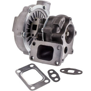 T04e T3 T4 57 A R 57 Trim Turbo For Ford 1999 Compressor 400 Hp Boost Stage Iii