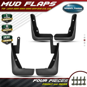 Set Of 4 Splash Guards Mud Flaps Mudflaps For Lexus Is250 Is300 Is350 2014 2016