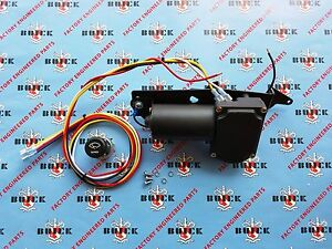 1950 1953 Buick Super Roadmaster Electric Wiper Motor Kit 12v Replacement