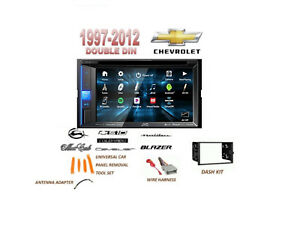 Chevrolet Impala Blazer Malibu S10 Touchscreen Dvd Bluetooth Stereo Kit