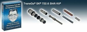 Transgo Shift Kit Mercedes 722 6 Dodge Chrysler Jeep Sprinter Nag1 Sk 722 6