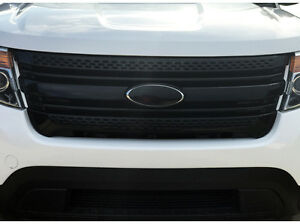 Vinyl Emblem Logo Blackout Overlays For 2011 2012 2013 2014 2015 Ford Explorer