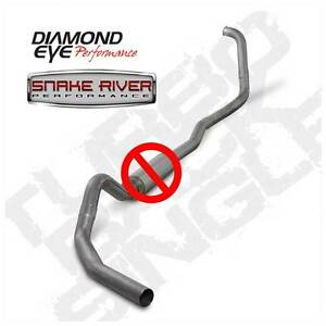 Diamond Eye 4 Exhaust 03 07 Ford Powerstroke 6 0 Stainless No Muffler Auto Only