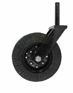 Bush Hog land Pride rhino woods Tail Wheel Assembly Fits 1 1 2 Shank