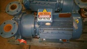 Sihi Lema 325 Az Vacuum Pump With 15hp 10kw electric Motor used