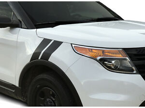 Fender Racing Hash Stripes Decal For 2011 2012 2013 2014 2015 Ford Explorer