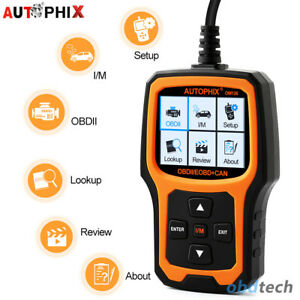 Engine Error Code Reader Scan Tool For Diesel Gasoline Automotive Obdii Scanner