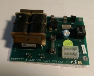 Bennett X ray Pcb Pcb Power Supply 208112 Rev A