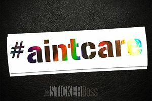 aintcare Car Decal Sticker _ Gu For Jdm Kdm Euro Style Pick Size And Color