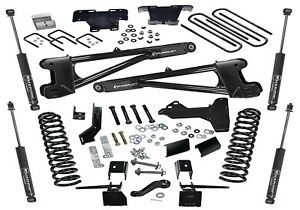 Superlift Suspension 6 In Radius Arm Lift Kit Fits 2017 Ford F 250 350 4wd