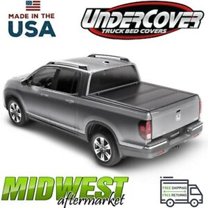 Undercover Ultra Flex Hard Folding Bed Cover For 2017 18 Honda Ridgeline 5 Bed