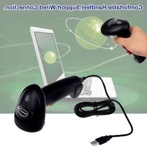 Portable Barcode Scanner Automatic Sensing Wireless Wired Laser Code Reader New