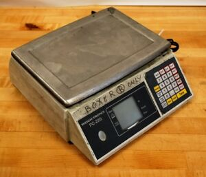 Weigh tronix Pc 220 Precision Digital Counting Scale Used