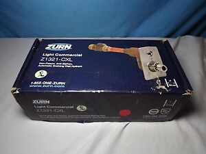 Zurn Z1321 cxl 4 pb Wall Fire Hydrant new In Box