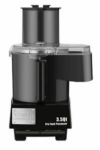 Waring Commercial Wfp14sc Batch Bowl And Continuous Food Processor With Seal