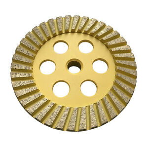 5 Diamond Surface Grinding Wheels For Stone Granite Concrete 60 80 Medium Grit