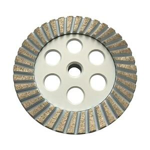 5 Diamond Grinding Wheels For Granite Concrete Marble 80 100 Fine Grit