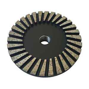 4 Diamond Grinding Wheel For Granite Concrete Marble 40 50 Grit