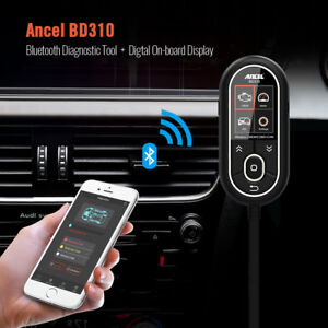 Obd2 Scanner Bd310 Digital Gauge Bluetooth Engine Code Reader For Android Iphone