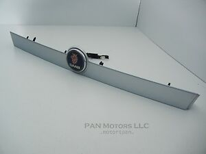 Saab 9 3 Convertible Trunk Silver Trim Molding Emblem License Light Garnish Oem