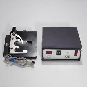 Zeiss Heated Mechanical Microscope Stage With Controller For Axioskop 473415