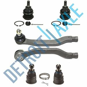 1994 1995 1996 1997 Honda Accord Oasis Upper Lower Ball Joint Tierod Kit