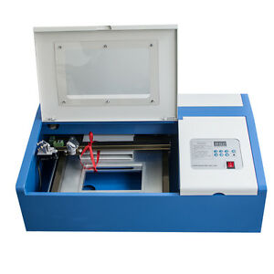40w Co2 Usb Laser Engraving Cutting Machine Engraver Cutter Woodworking crafts