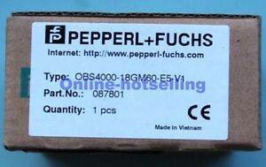 Pepperl Fuchs Sensor P F Obs4000 18gm60 e5 v1 New In Box oh06