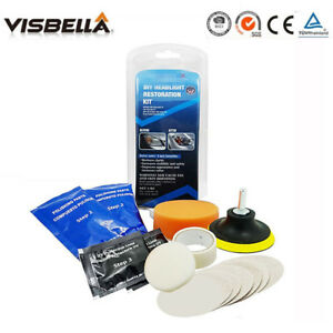 Headlight Maintenance Restoration Repair Light Lens Polishing Cleaner Car Tool