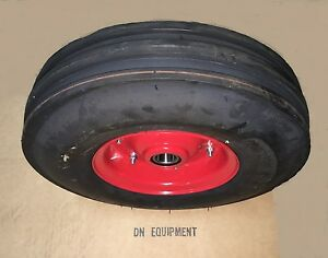 3 50x6 3 Ribbed Tedder Tire Wheel Fits Galfre Walton First Choice And More