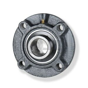 1 375 In 4 bolt Piloted Flange Cast Iron Ucfc207 22 Mounted Bearing New Qty 1